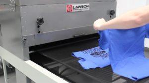 t-shirt screen print dryer